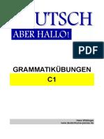 DEUTSCH Aber Hallo - Grammatik C1