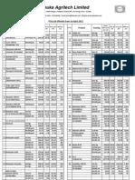 1.4.11 Price List