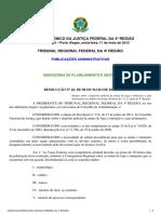 Resolucao nr 46.2012 - TRF4 Dep Armas de Fogo