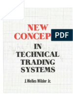 Welles Wilder - New Concepts in Technical Trading Systems