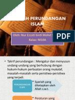 SEJARAH PERUNDANGAN ISLAM
