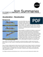NASA Information Summaries Acceleration-Deceleration