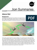 NASA Information Summaries Aileron Roll