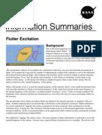 NASA Information Summaries Flutter Excitation