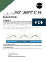 NASA Information Summaries Sawtooth Climbs