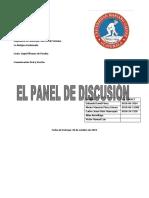 Panel de discusion arreglado