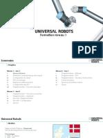 Formation UR5 Niveau 1