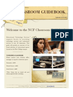 Classroom GuideBook Spring 2011-2