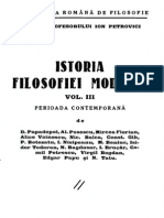 Istoria Filozofiei Moderne Vol III