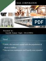 Delhi Metro Rail Corporation Project