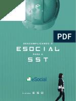 eBook Descomplicando o Esocial Para a Sst Sistemaeso