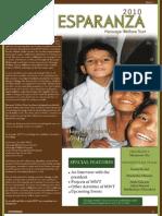 Esparanza a Newsletter by Message Welfare Trust