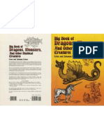 Big Book of Dragons, Monsters and Other Mythical Creatures - E&J Lehner