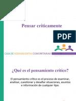 4.- PENSAR CRITICAMENTE