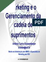 PPT Apresentação Marketing e Genciamento da Cadeia de Suprimentos