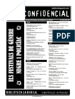 L'H Confidencial Especial 2021. Els festivals de gènere negre i policíac