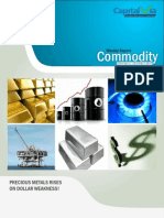 Bullion Commodity Reports for the Week (18th – 22nd April '11)