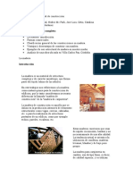 La Madera como material de construcción