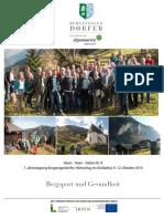 Tagungsband 08 Bergsport Und Gesundheit 2014 Huettschlag