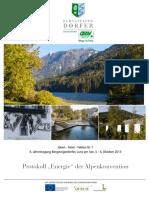 Tagungsband 07 Alpenkonvention 2013 Lunz Am See