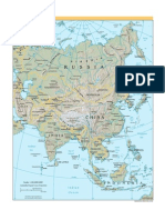 Maps of the World - Asia