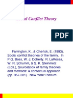 Sourcebook - Theory of Social Conflict on Family