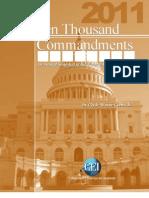 Wayne Crews - 10,000 Commandments 2011