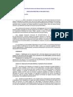 modificacion de la Directiva MEF