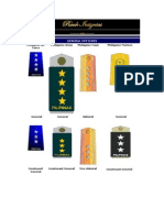 Philippine Air Force -  Rank Insignias
