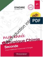 Extrait CRSD CL 2 PCH Cours
