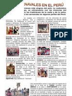 CARNAVALES EN EL PERU