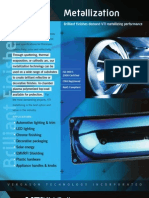 Vacuum Metallizing Brochure