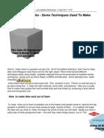 How to Make Rocks