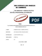 Las Teorías Biocriminológicas, Sociocriminológicas y Psicocriminológicas 1