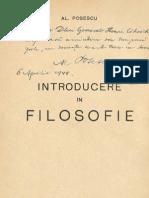 AL POSESCU - Introducere in Filosofie