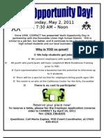 YOD Employer Flyer 2011