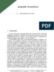 Geografía Humanistica
