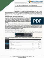 S15 - Páginas Estáticas en WordPress