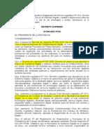 029-2021-PCM Reglamento Ley Gobierno Digital