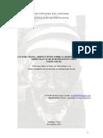 Parte I. Tesis Cultura Negra; Meditaciones sobre la Dimensión Ritual del Orden Rastafari Boboshanti en Chile (Rafael Lagos)