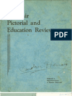 Souvenir Pictorial and Education Review - 1939