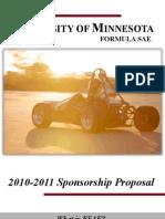 2010-2011SponsorshipProposal