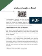 História da industrialização no Brasil