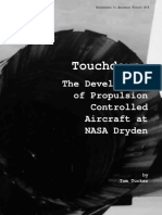 Touchdown the Development of Propulsion Controlled Aircraft at NASA Dryden