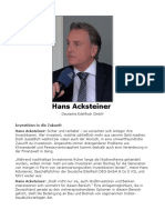 Hans Acksteiner Berlin
