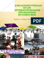 Las relaciones públicas en los movimientos sociales estudiantiles de Puerto Rico 2
