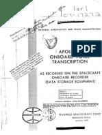 Apollo 7 Onboard Voice Transcription
