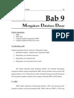 Bab 9 - Mengakses Database Dasar