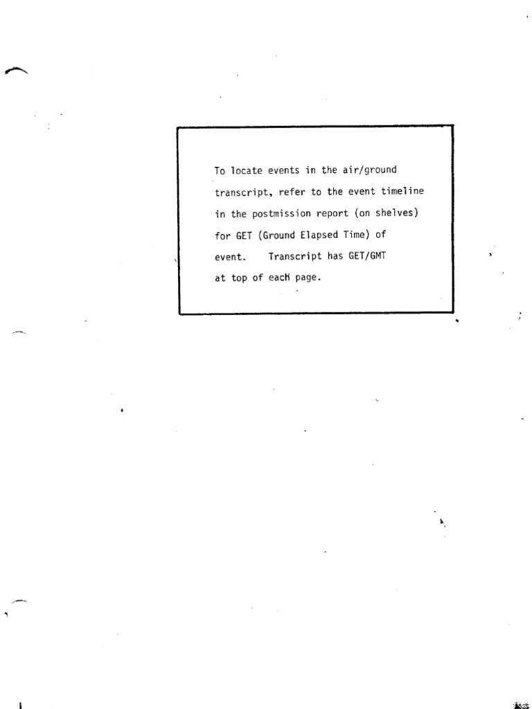Apollo 7 Pao Commentary Transcript Program Compact Redstone 5clock With On Off Switch Spacecraft