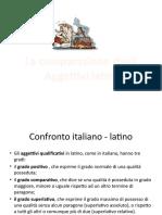Comparazione Degli Aggettivi in Latino